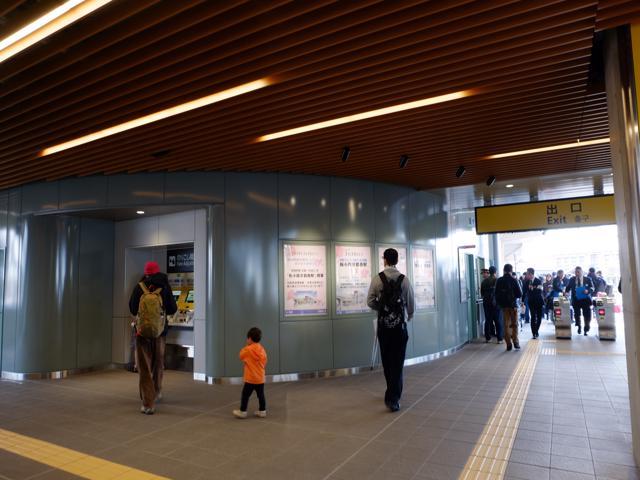 駅内部・改札口