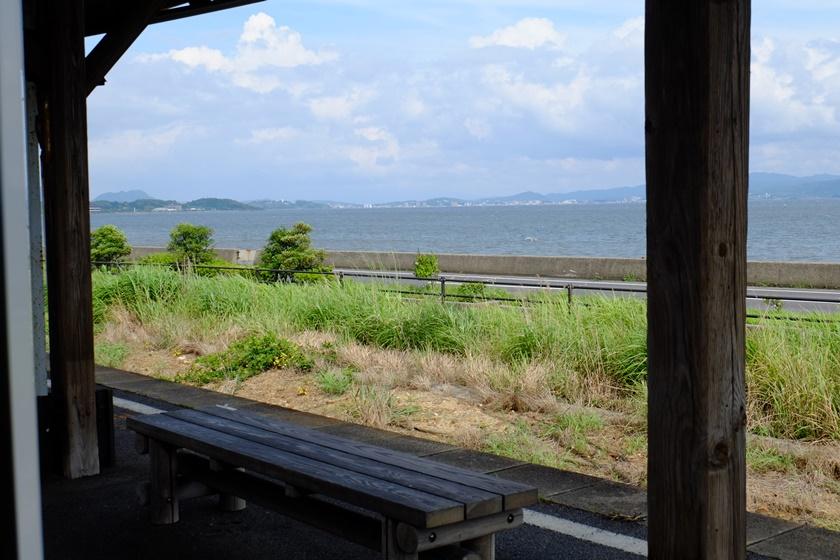 秋鹿町駅 ホーム