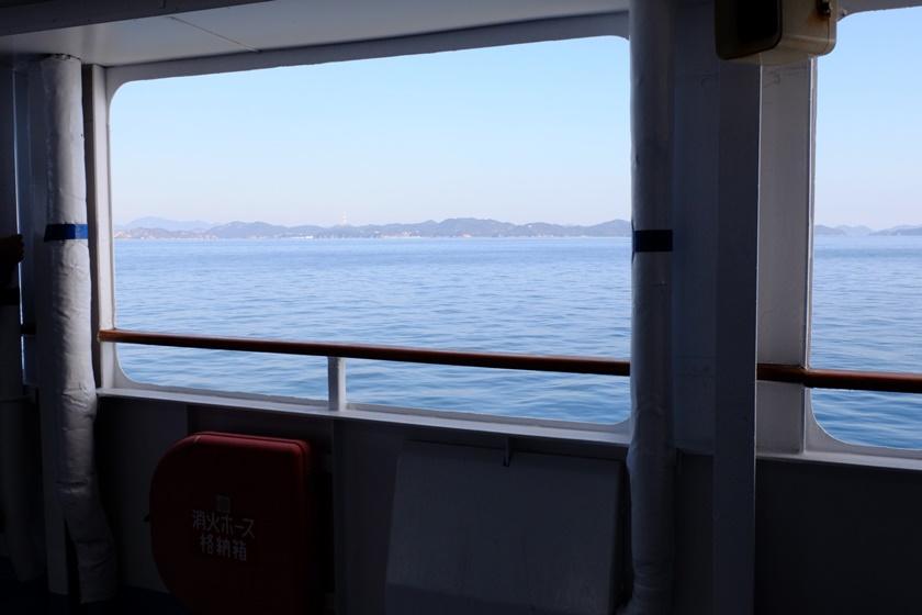 船内からの眺め