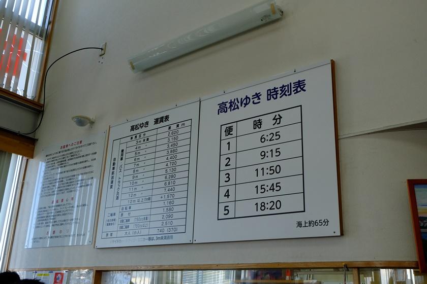 運賃表・時刻表