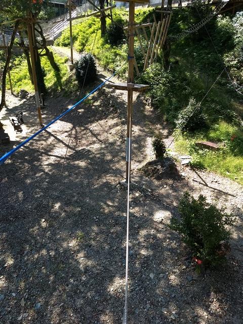 ロープ1本