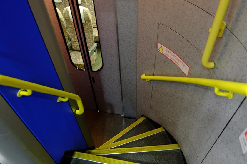 1階席への階段
